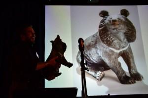 Peter Moon Bear Sculpture