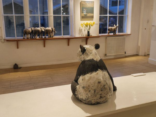 Animal Sculpture Exhibition Bath