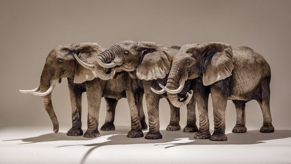Animal Sculptures by Nick Mackman