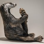 Badger Sculpture