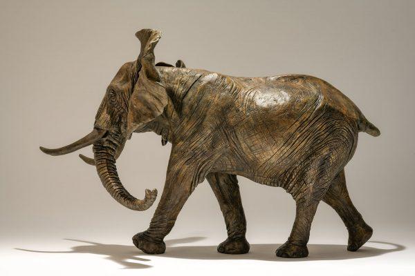 Bronze Elephant Sculpture