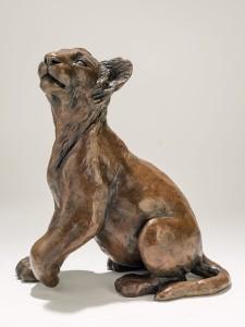 Bronze Lion Cub