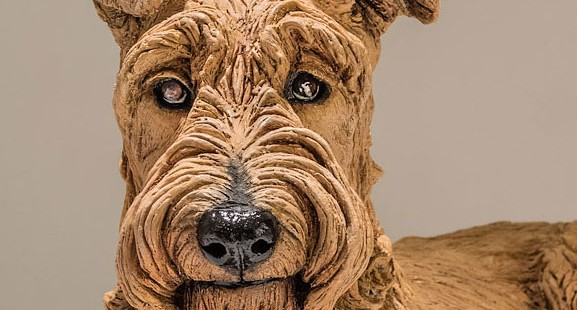 Dog Sculpture Commission