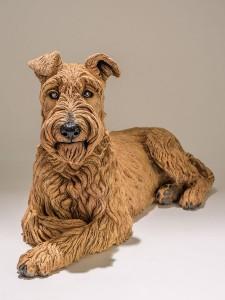 Nick Mackman Dog Sculpture