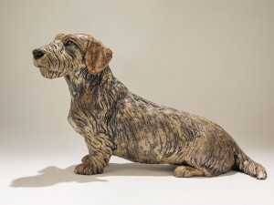 Dachshund Dog Sculpture
