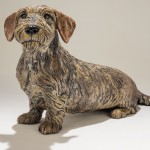 Dachshund Dog Sculpture £1950 - Sold
