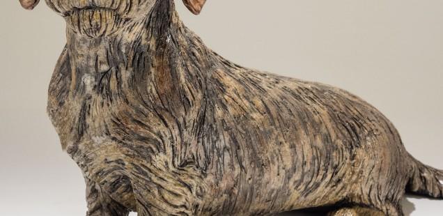 Dachshund Dog Sculpture £1950 - Sold