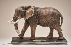 Elephant Sculpture Trophy
