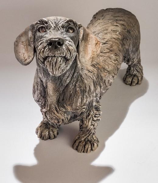 Dog Sculpture by Nick Mackman