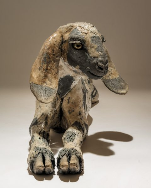 Goat Sculpture Anglo-Nubian
