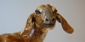 goat sculpture