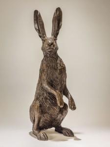 Hare Sculpture Haunches