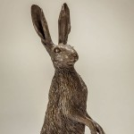 Hare Sculpture Haunches