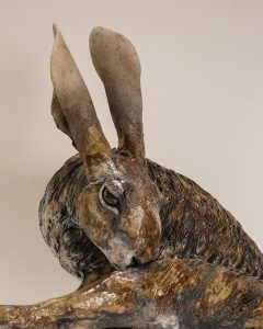 Hare Sculpture