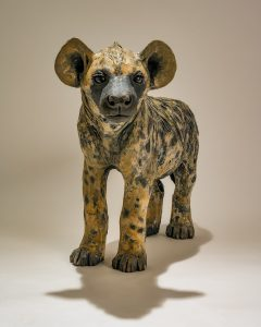 Hyena Sculpture
