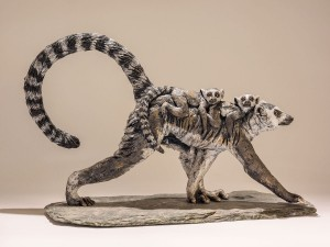 Lemur Sculpture