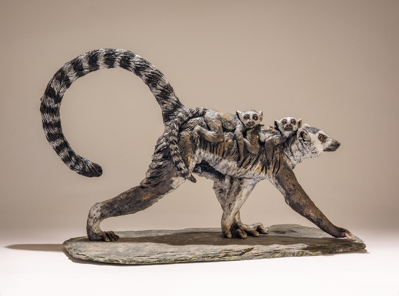 Lemur Sculpture