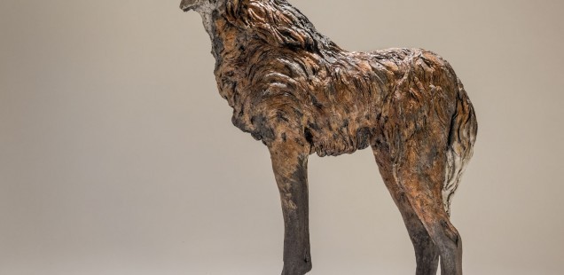 Maned Wolf Sculpture