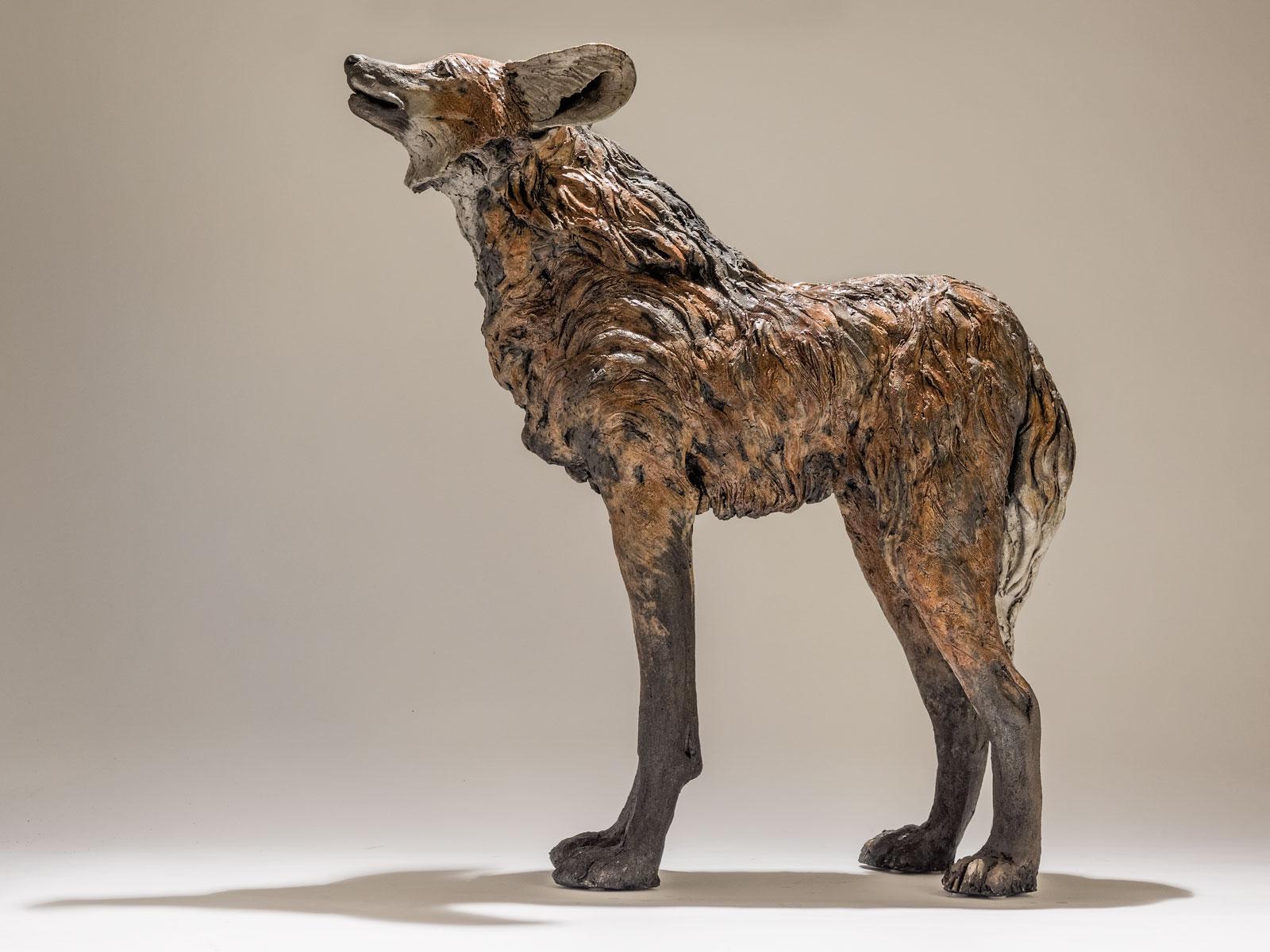 Maned Wolf Sculpture