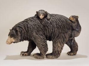 Moon Bear Sculpture