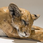 lion cub sculpture