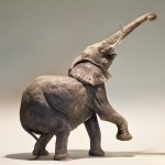 Nick Mackman Elephant Sculpture