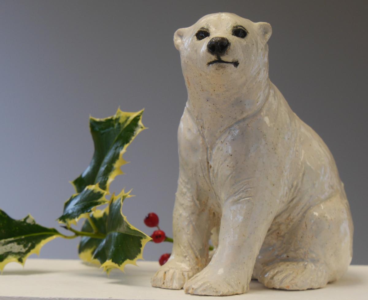 Win a Polar Bear Cub Sculpture!