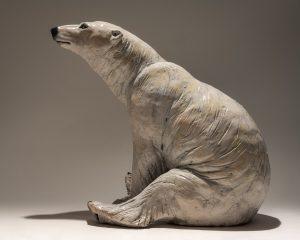 Polar Bear Sculpture