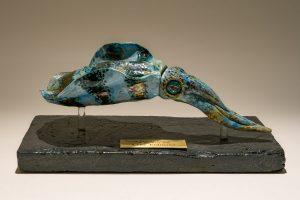 Squid Sculpture Trophy