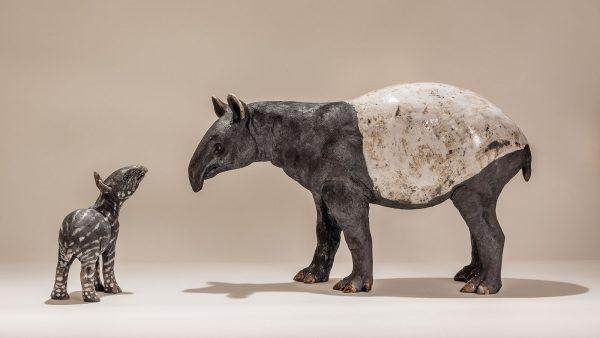 Tapir Sculpture