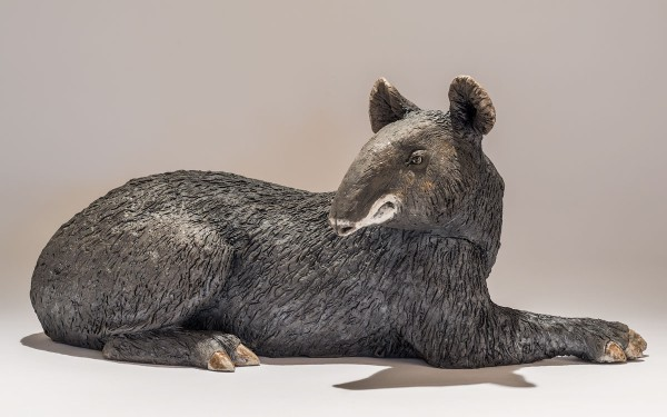 mountain tapir sculpture