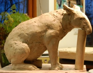 Tapir Sculpture Commission