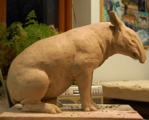 Nick Mackman Tapir Sculpture