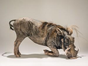 Warthog Sculpture