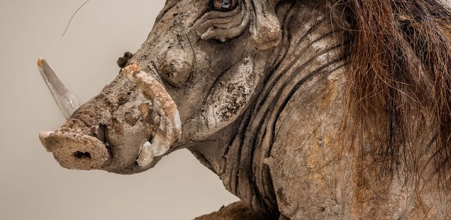Warthog Sculpture £2500 Sold