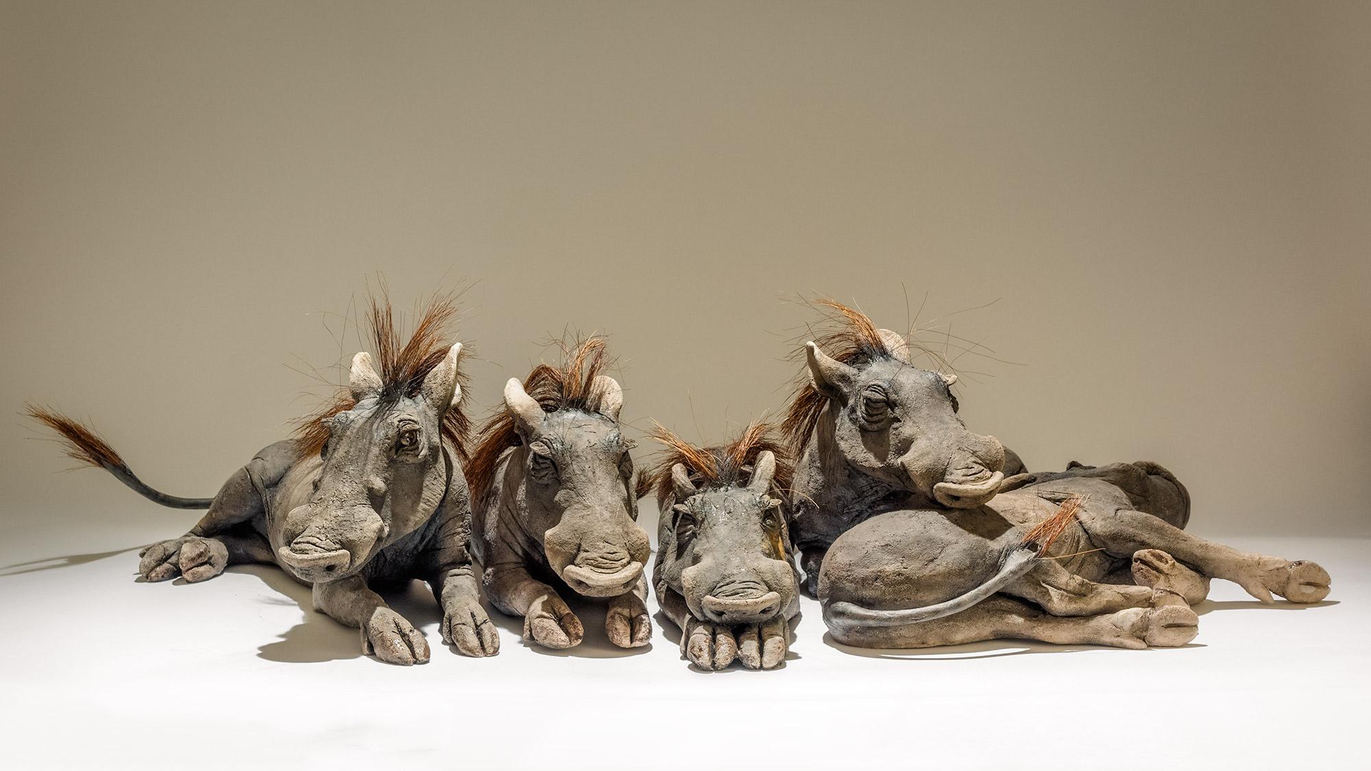 Warthog Sculptures