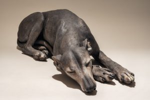 Whippet Dog Sculpture