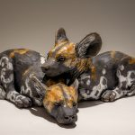 Wild Dog Sculptures