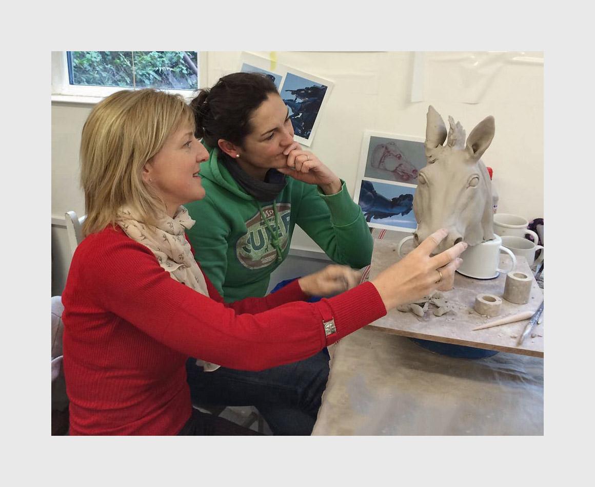 UK Animal Sculpture Workshops Event