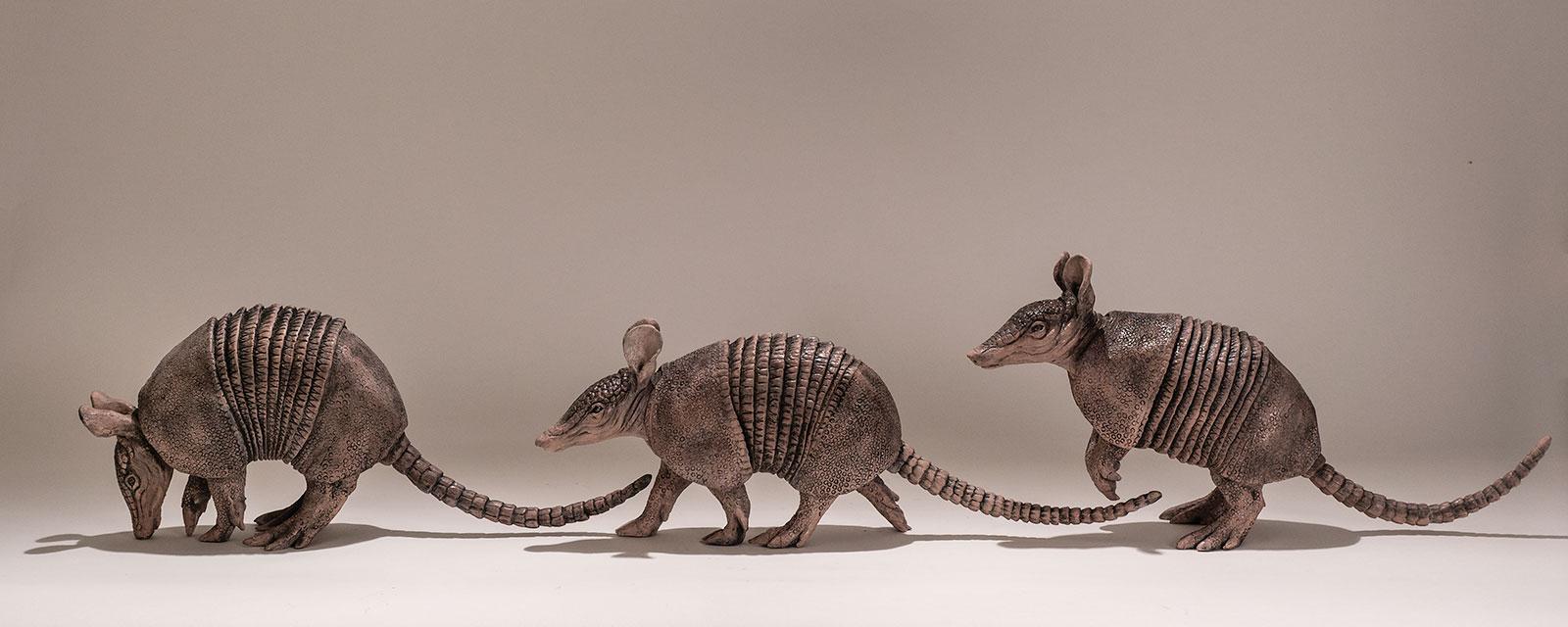 Armadillos Sculptures