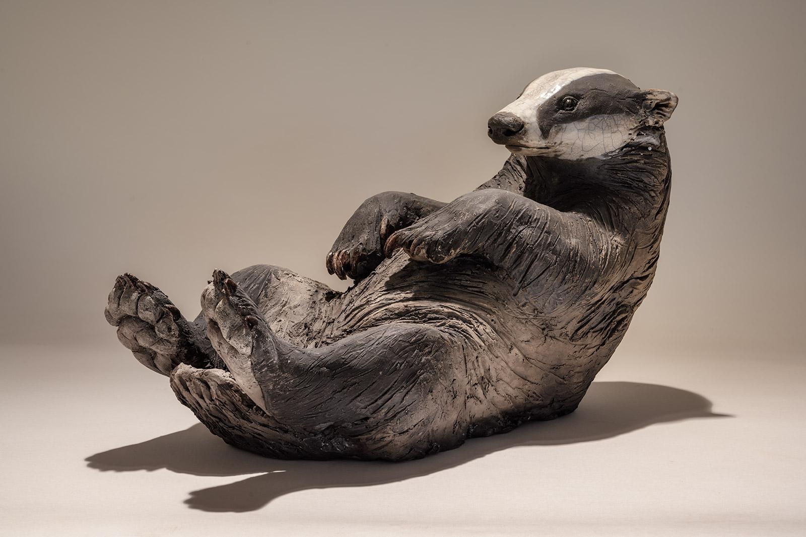 Badger Sculpture <span>Sold</span>