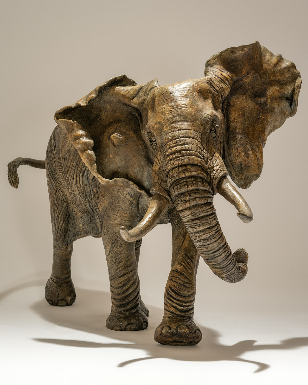 Bronze Elephant Sculpture <span>New Release</span>
