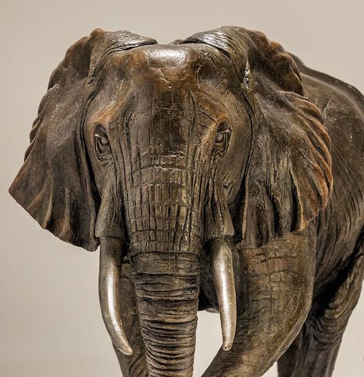 Bronze Elephant Sculptures