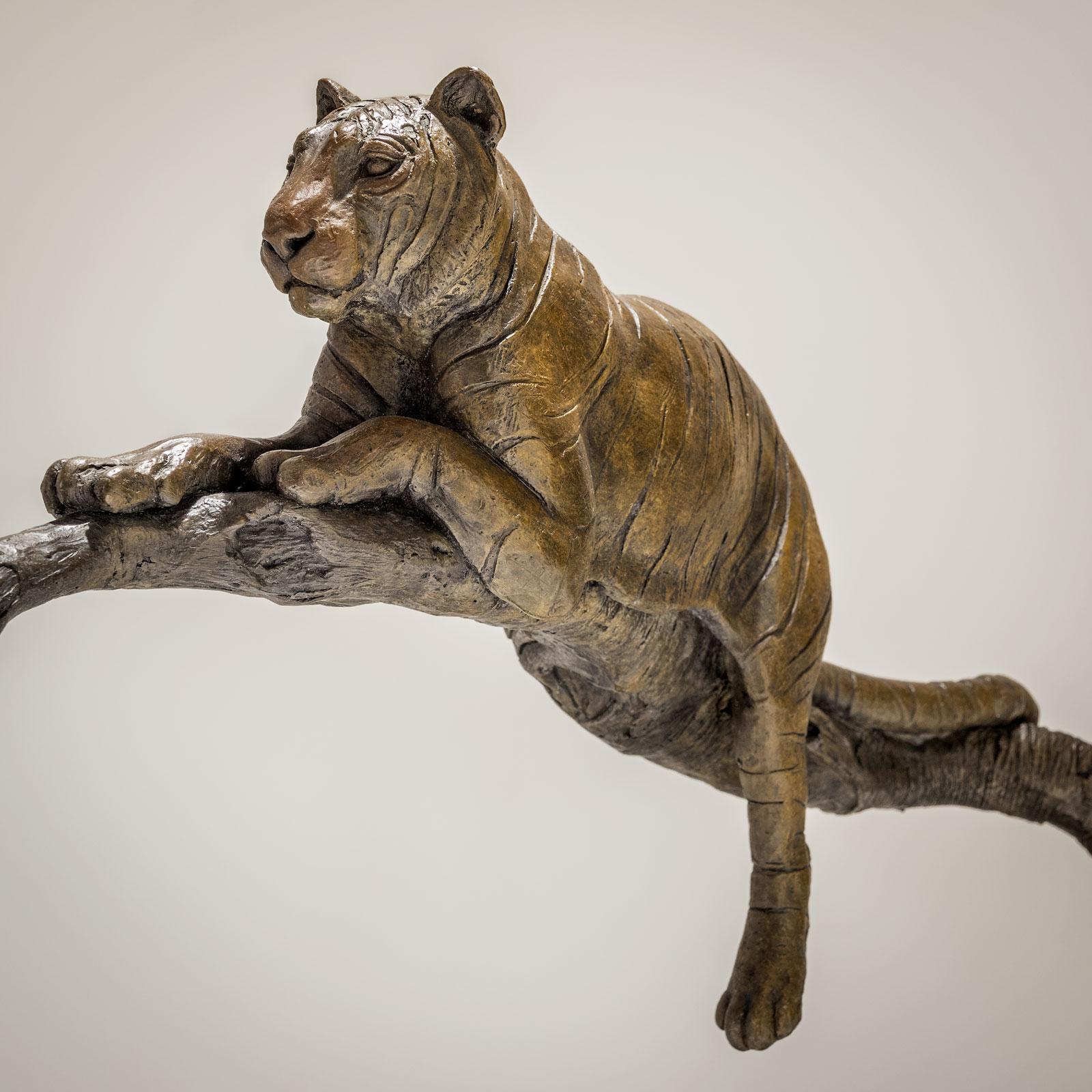 Bronze Tiger Sculpture £7995