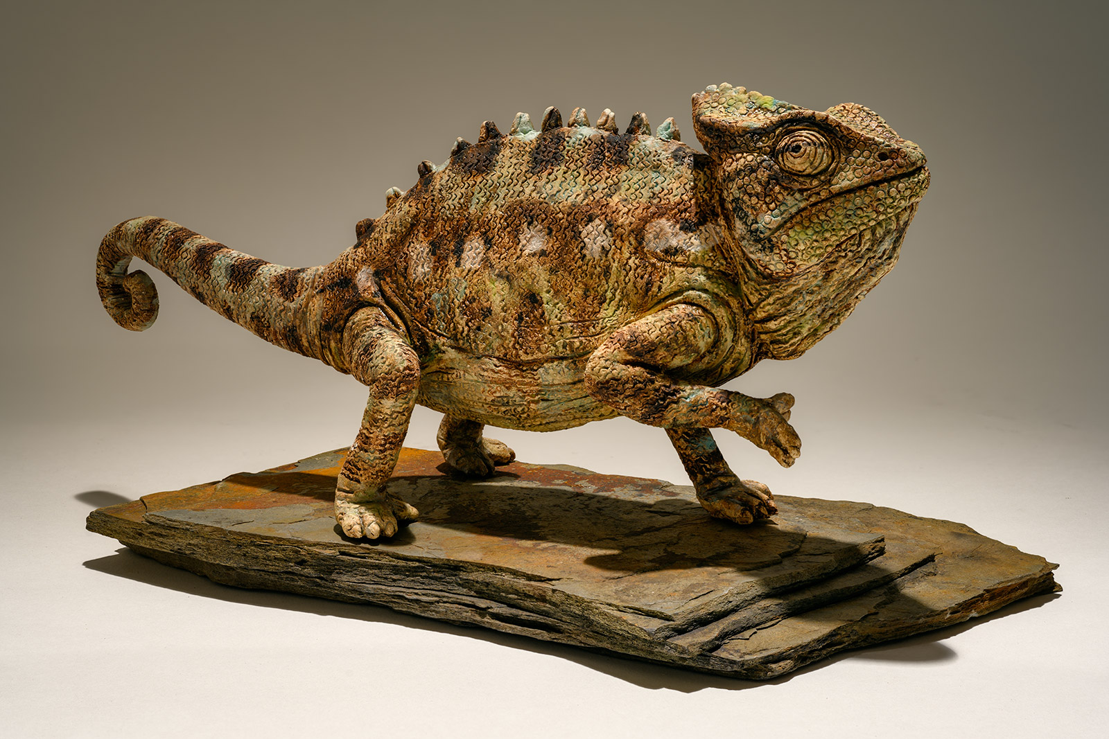 Chameleon Sculpture
