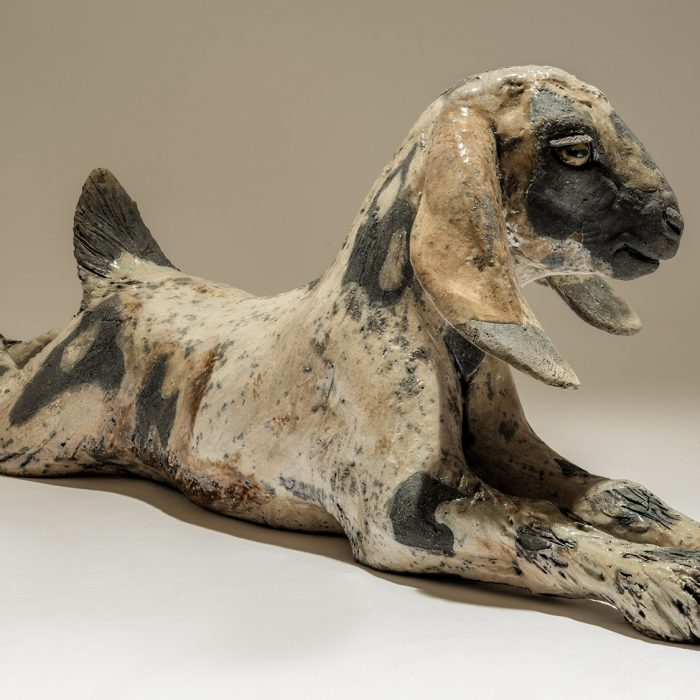 Anglo-Nubian Goat Sculpture <span>Sold</span>