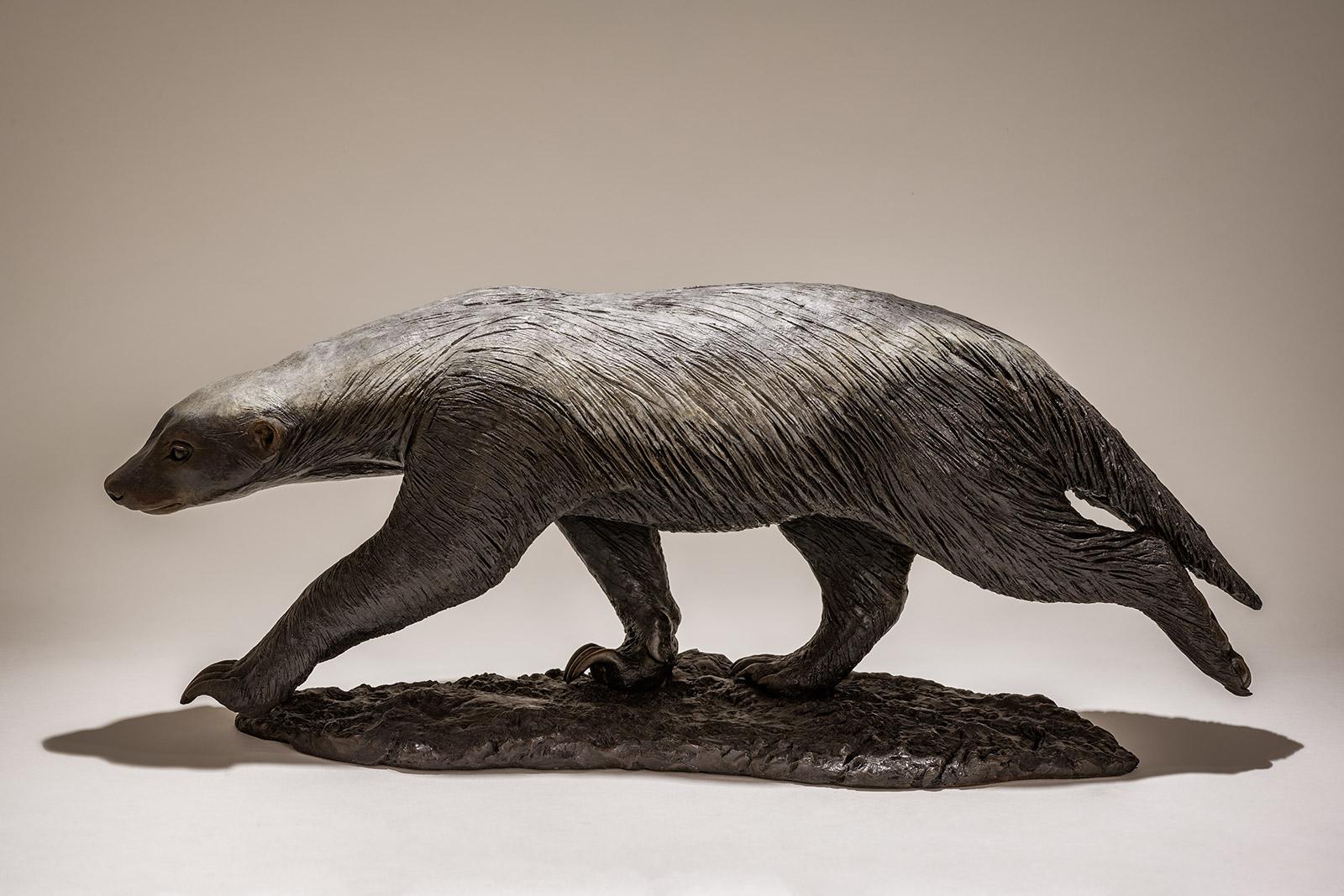 Honey Badger Sculpture