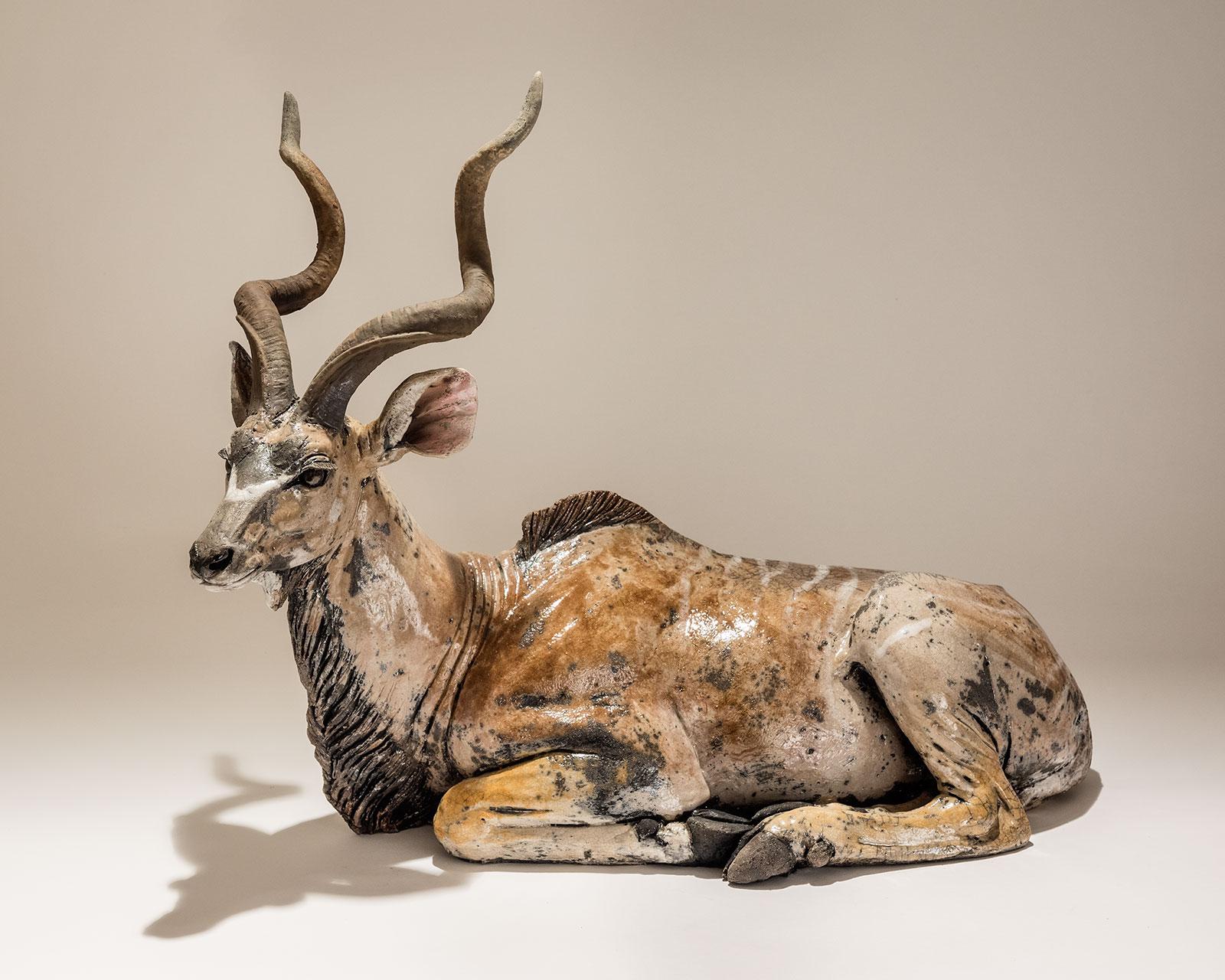 Kudu Sculpture