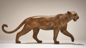 Bronze Leopard Sculpture £6500