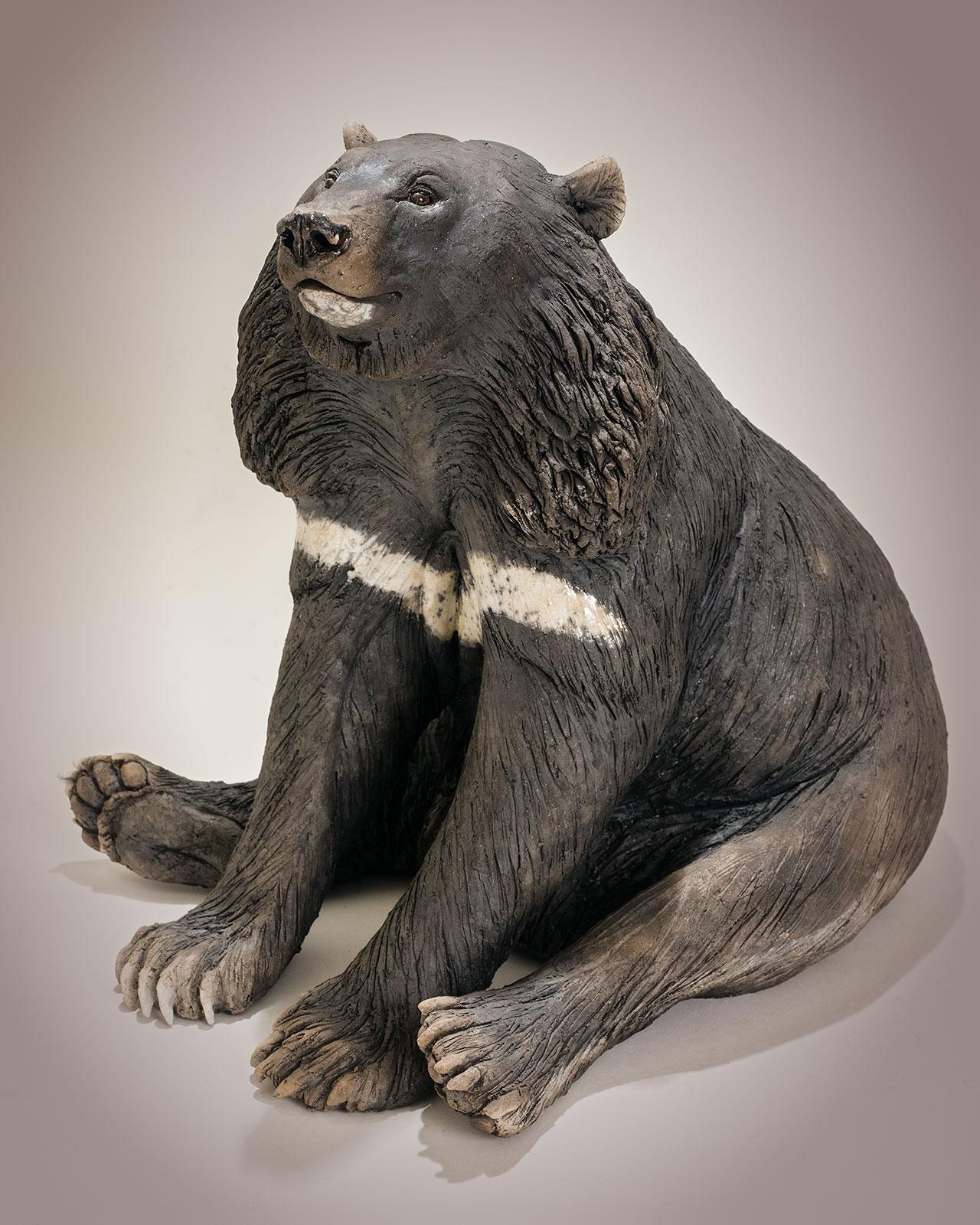 Moon Bear Sculpture
